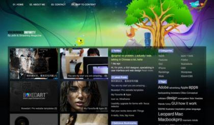 100 лучших бесплатных тем для WordPress 2009