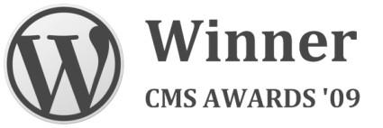 WordPress стал лучшей OpenSource CMS 2009 года