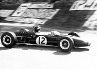 чемпион мира Йохен Риндт за рулем машины Рона Уинкельмана в Формуле 2, 1967